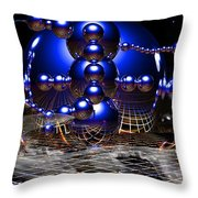 Theory Of Relativity Throw Pillow