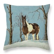 There Is A Season Throw Pillow