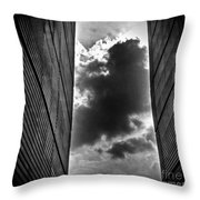 There Is Something Out There... Throw Pillow