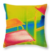 Thermal Shadow Throw Pillow