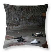 They Danced Here Throw Pillow