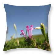 They Might Be Flowers Throw Pillow