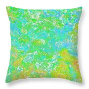 Thick Paint II Throw Pillow