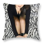 Things Are Looking Up For Birim Throw Pillow