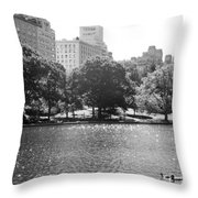 Things On The Water Throw Pillow