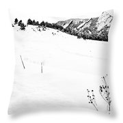 Things That Grow In The Foreground 2 Throw Pillow
