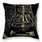 Thinking Of Rembrant Throw Pillow