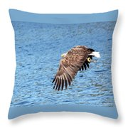 This Fish Is Mine Throw Pillow