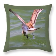 This Is How You Catch Them Throw Pillow