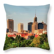 This Is My Town - Buffalo Throw Pillow