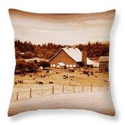 This Old Farm IIII Throw Pillow