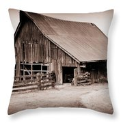 This Old Farm Throw Pillow