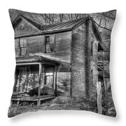 This Old House Throw Pillow by Todd Hostetter