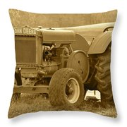 This Old Tractor Throw Pillow