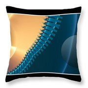 This Side Of The Moon Throw Pillow