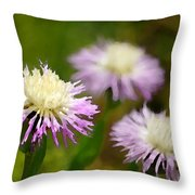 Thistle Illusion Throw Pillow
