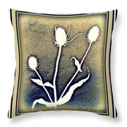 Thistles Grouping Throw Pillow