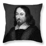 Thomas Browne (1605-1682) Throw Pillow