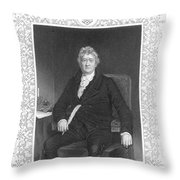 Thomas Clarkson (1760-1846) Throw Pillow