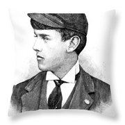 Thomas E. Burke Throw Pillow