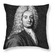 Thomas Forster (1675-1738) Throw Pillow