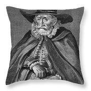 Thomas Hobson (1544-1631) Throw Pillow