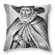 Thomas Hobson (c1544-1631) Throw Pillow