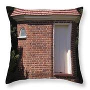 Thomas Jeffersons Privy Throw Pillow