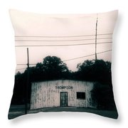 Thompson- La Highway 80 Throw Pillow