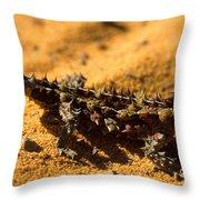 Thorny Devil Throw Pillow