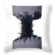 Thors' Dumbell Throw Pillow