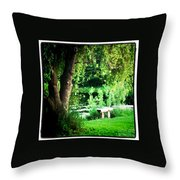 Thoughtful Spot Throw Pillow by Trish Hale