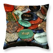 Thoughts In The Shadow Throw Pillow
