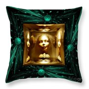 Thoughts Mirror Box Throw Pillow