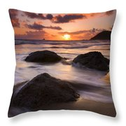 Three Against The Tide Throw Pillow