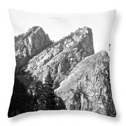 Three Brothers Throw Pillow