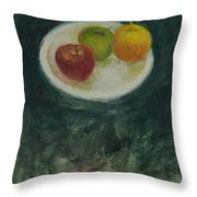 Three In Kind Throw Pillow