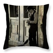 Three Rights Make A Left Throw Pillow