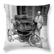Three-wheel Automobile Throw Pillow