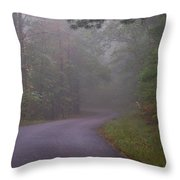 Through The Forest Dark And Deep 0 Throw Pillow