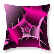 Through The Pain Throw Pillow