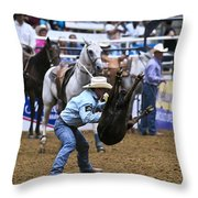 Throw Down Throw Pillow