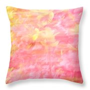 Thru The Breeze Throw Pillow