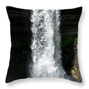 Thunder Water Throw Pillow