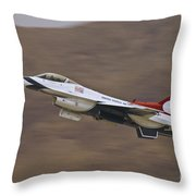 Thunderbird Burner Climb Throw Pillow