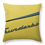 Thunderbird Emblem Throw Pillow