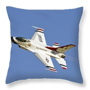 Thunderbird Slats Throw Pillow