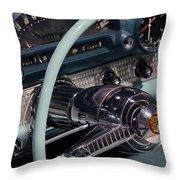 Thunderbird Steering Wheel Throw Pillow