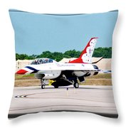 Thunderbirds 3d Throw Pillow
