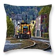 Thurmond Wv Train Throw Pillow